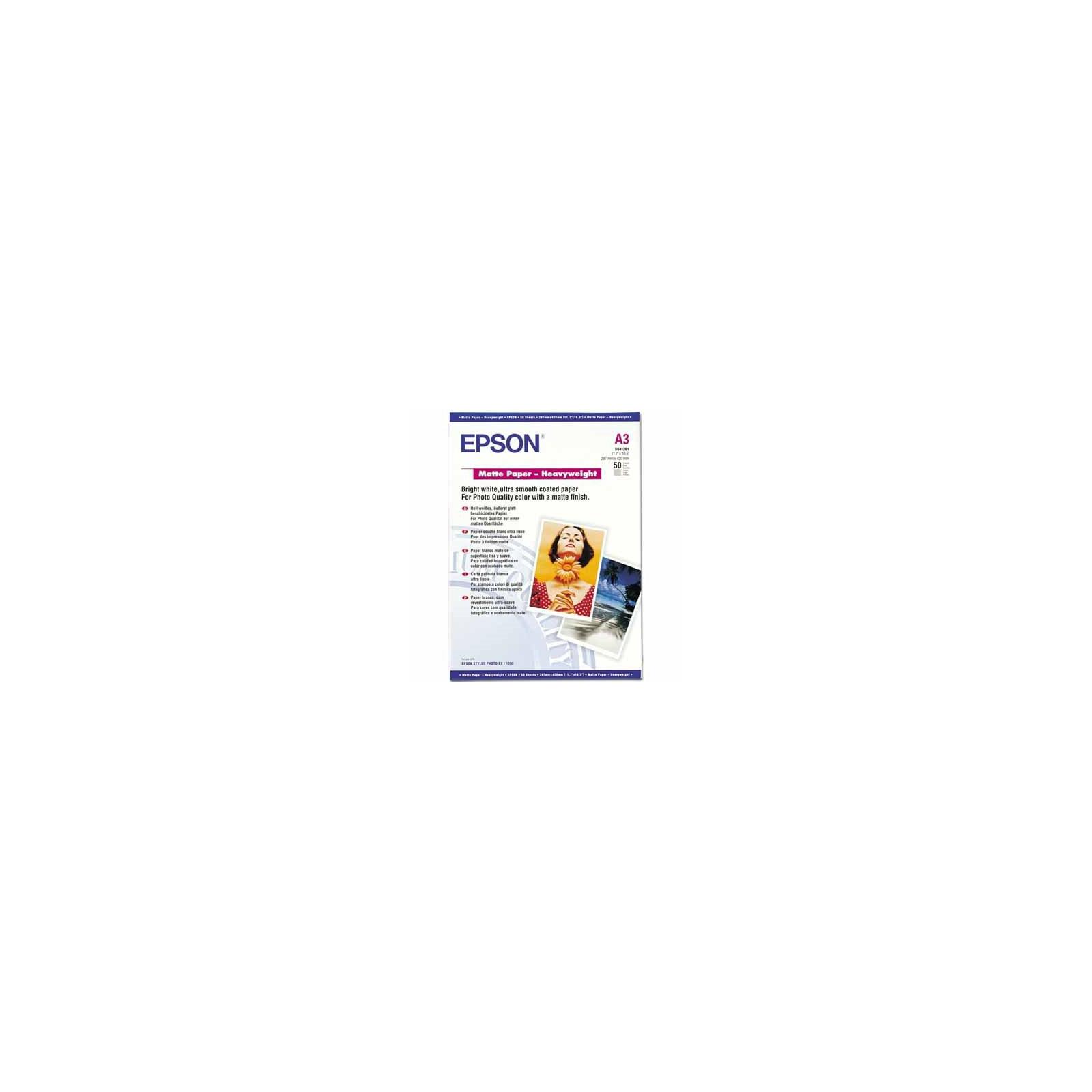 Бумага EPSON A3 Matte Paper-Heavyweight (C13S041261)