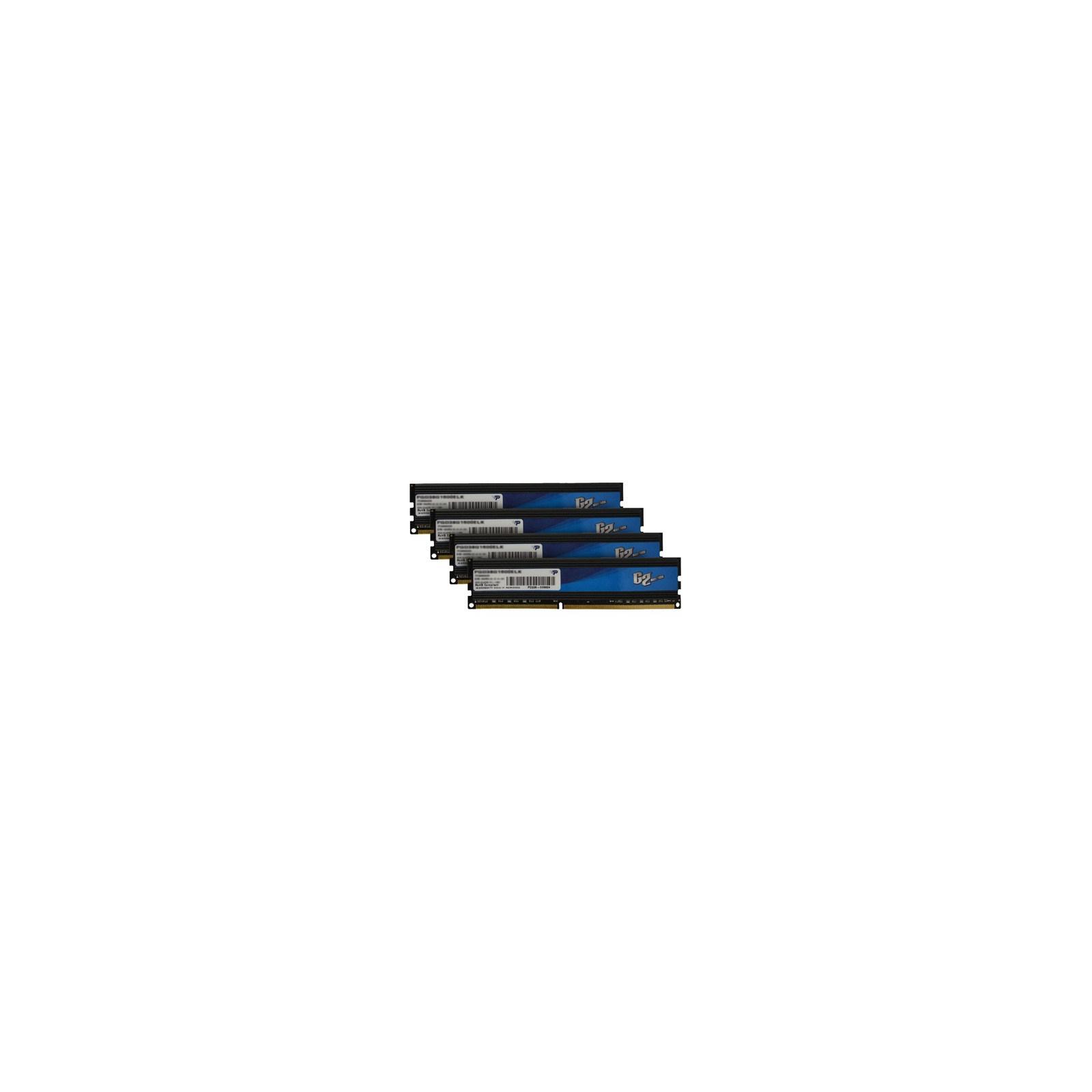 Модуль памяти для компьютера DDR3 16GB (4x4GB) 1600 MHz Patriot (PGQ316G1600ELQK)