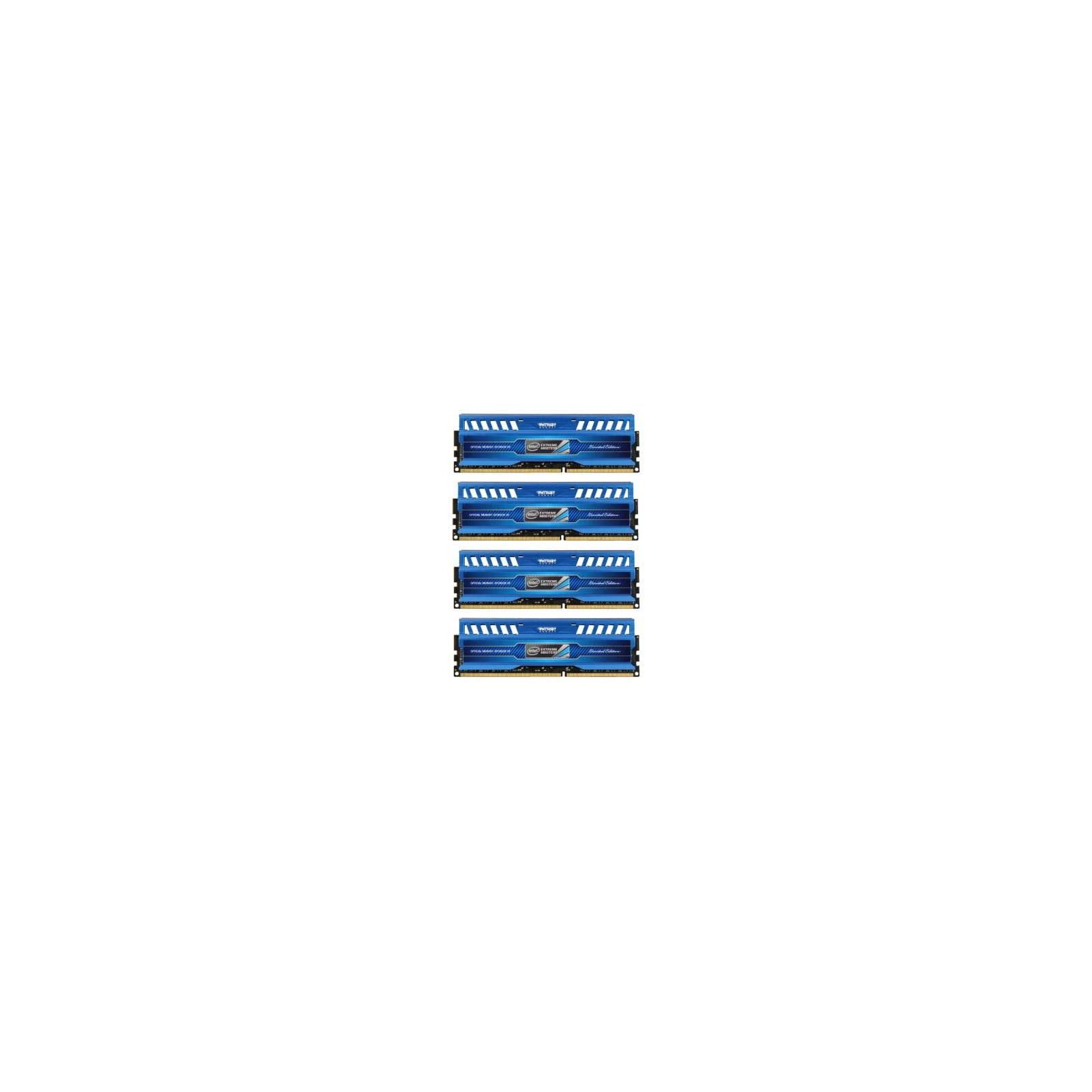 Модуль памяти для компьютера DDR3 16GB (4x4GB) 1600 MHz Patriot (PVI316G160C9QK)