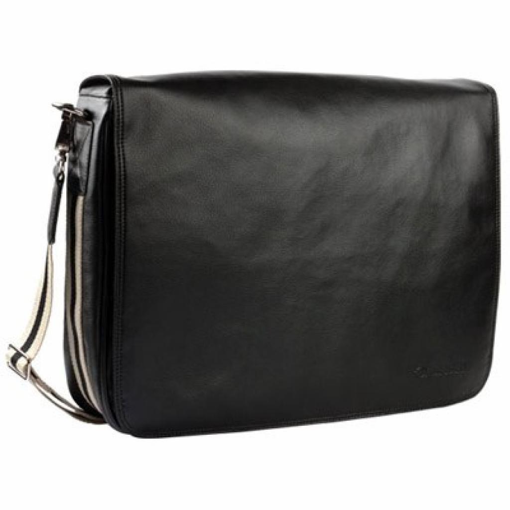 """Сумка для ноутбука Krusell 16"""" Alvik Laptop Bag black (71275)"""