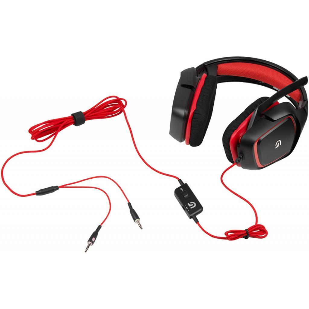 Наушники Logitech G230 Gaming Headset (981-000540) изображение 4