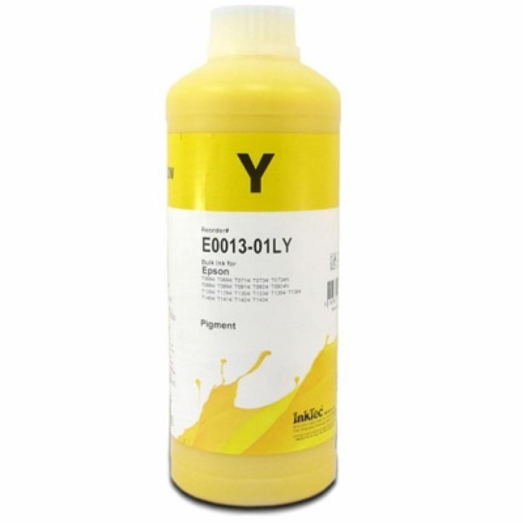 Чернила InkTec Epson C79/91 Т26/27 ТХ106/117 S22/SX130/420 Yellow Pigment (E0013-01LY)