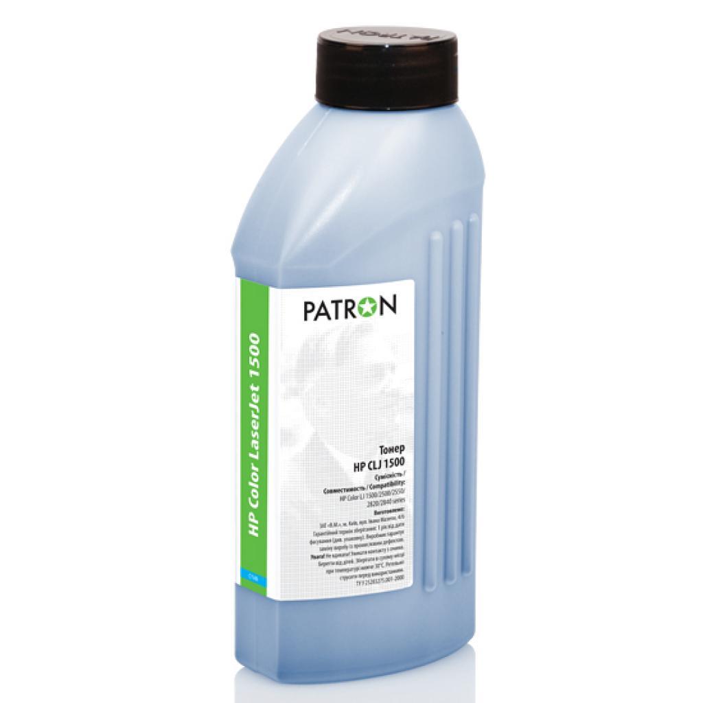 Тонер PATRON HP CLJ 1500 CYAN 150г (T-PN-HCLJ1500-C-150)