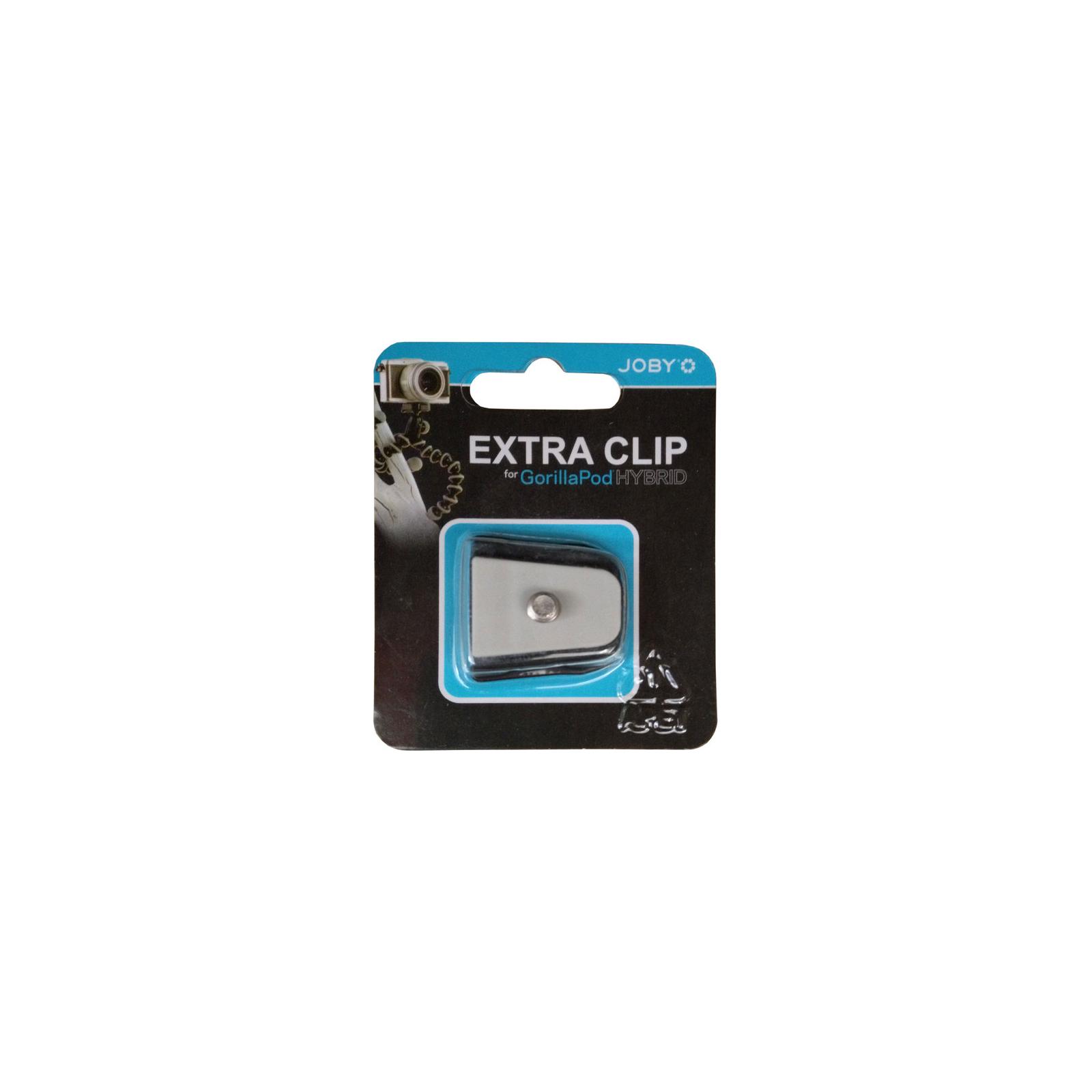Площадка для штативной головы JOBY GorillaPod Hybrid Quick Release Clip (Black/Grey) (JB01110-CEU)