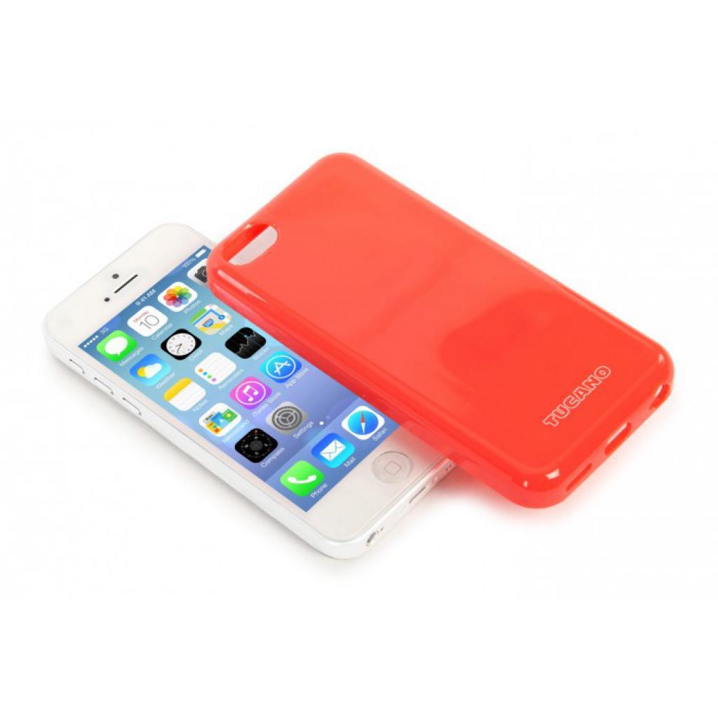 Чехол для моб. телефона Tucano iPhone 5С /Velo/Coral red (IPHCV-R) изображение 4