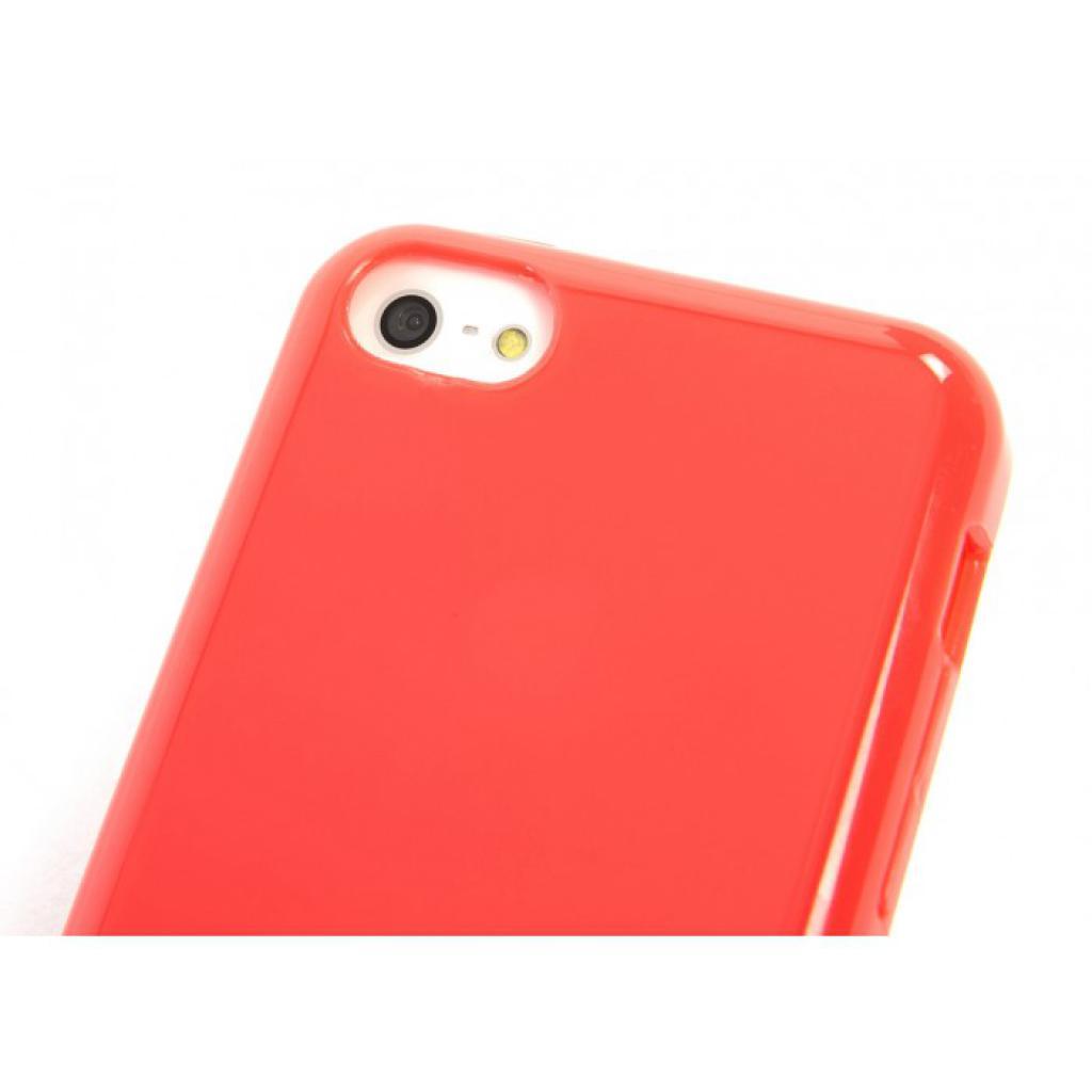 Чехол для моб. телефона Tucano iPhone 5С /Velo/Coral red (IPHCV-R) изображение 5