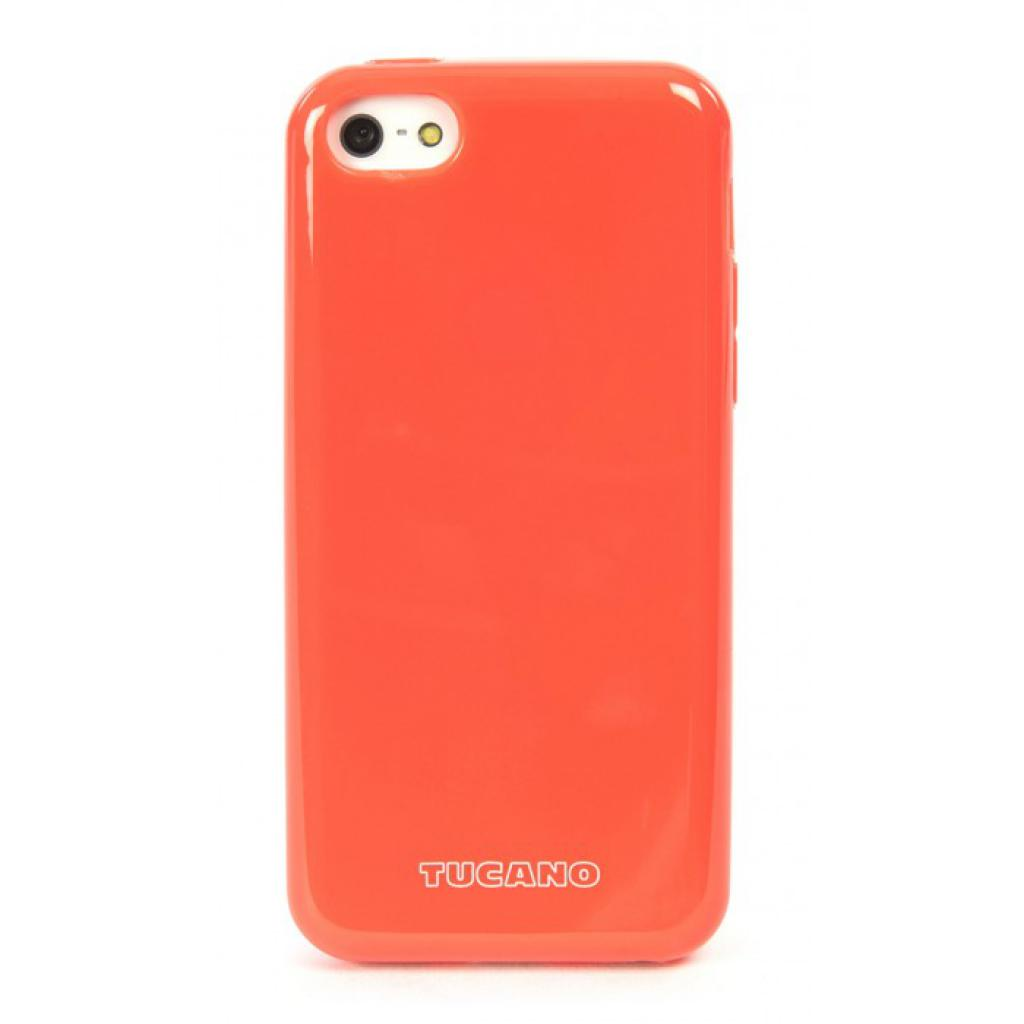 Чехол для моб. телефона Tucano iPhone 5С /Velo/Coral red (IPHCV-R)