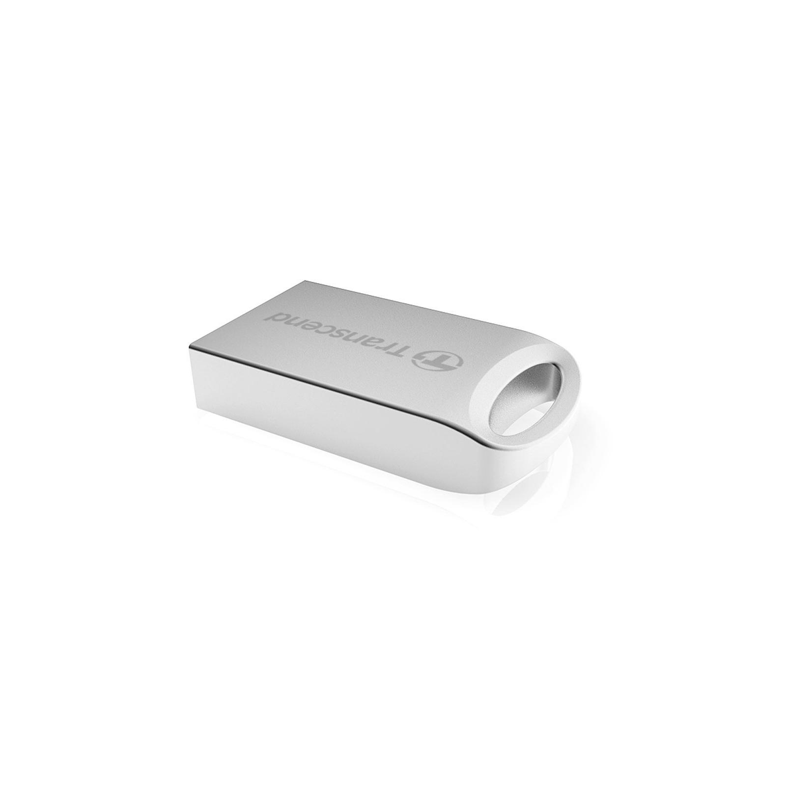 USB флеш накопитель Transcend JetFlash 510, Silver Plating (TS32GJF510S) изображение 2