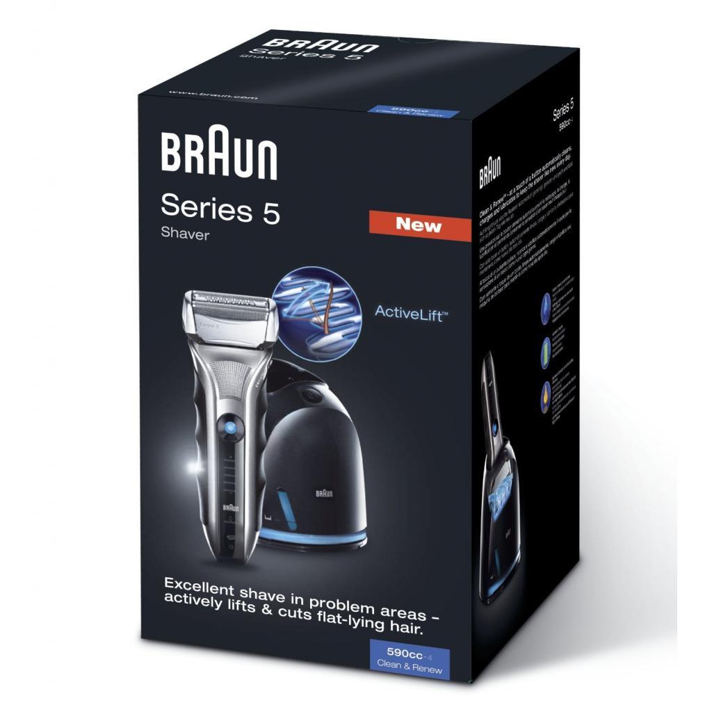 Электробритва BRAUN 590cc Series 5 (590ccSeries5) изображение 4
