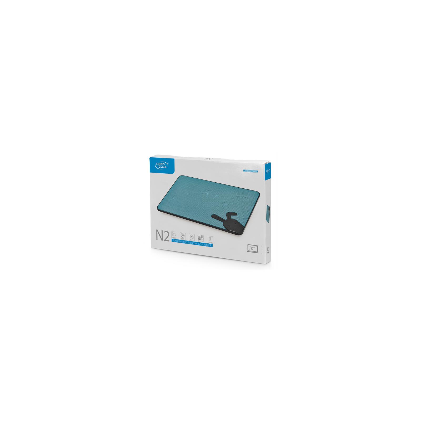 Подставка для ноутбука Deepcool N2 Black изображение 4