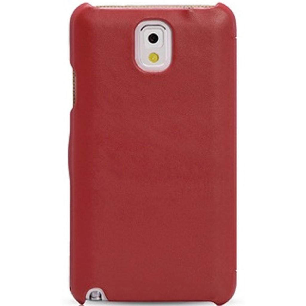 Чехол для моб. телефона i-Carer Side Open colorblock series до Samsung Galaxy Note 3 Red+Wh (RS900002RW) изображение 2