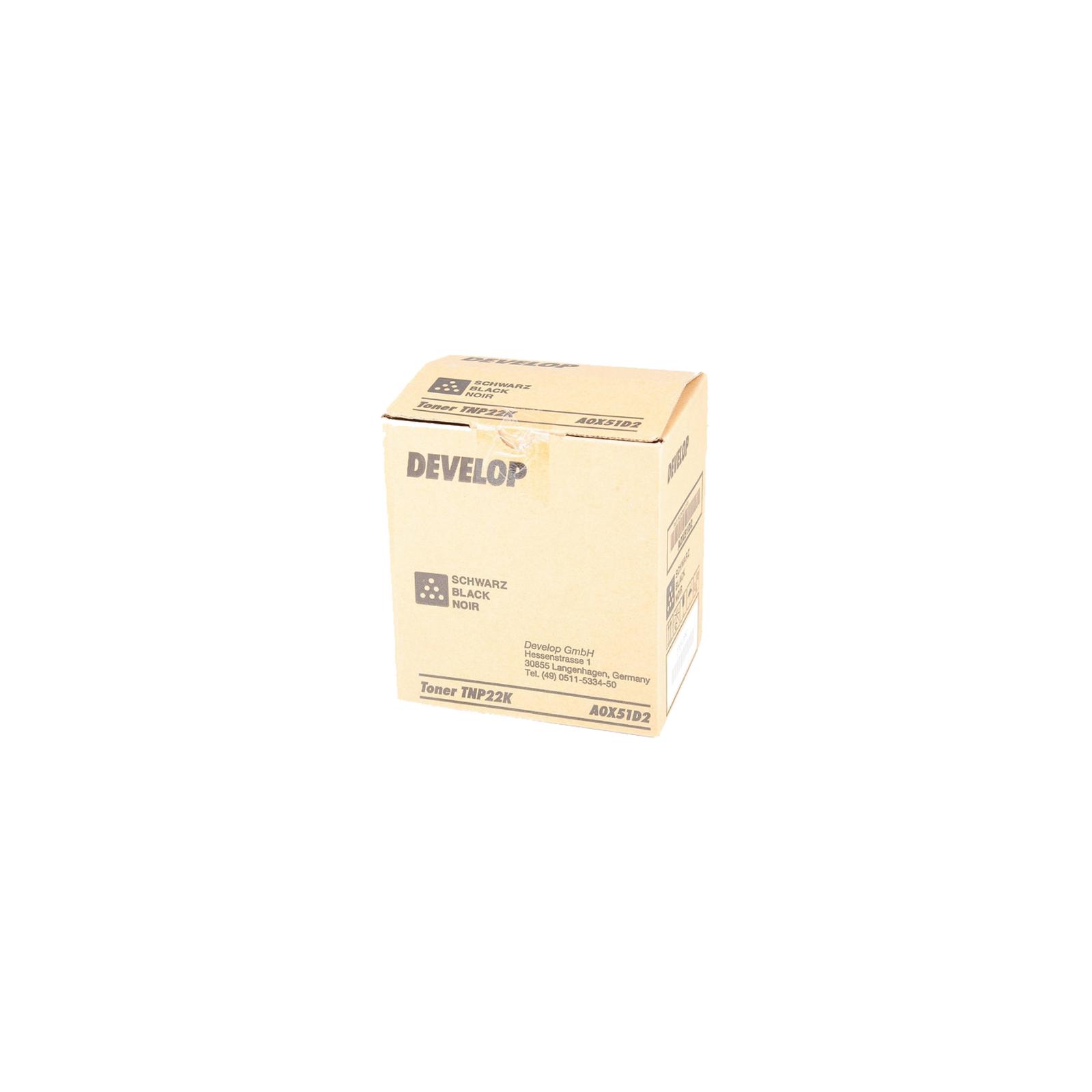 Тонер Develop TNP-22K Black для ineo +35/+35Р (6К) (A0X51D2)