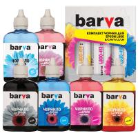Чернила BARVA EPSON L800/L810/L850/L1800 (T673) B/C/M/Y/LC/LM 6х90 г (L800-090-MP)