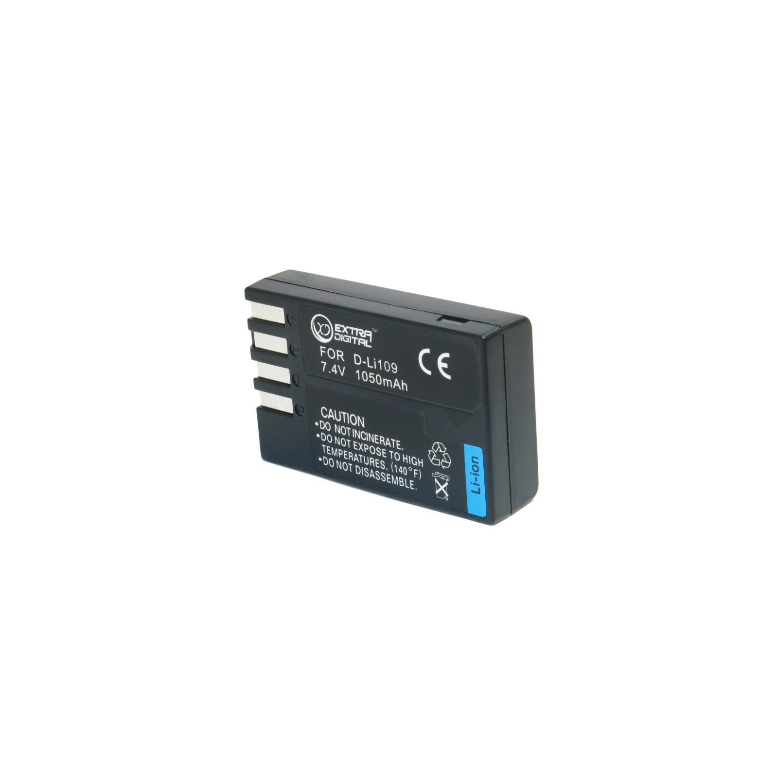 Аккумулятор к фото/видео EXTRADIGITAL Pentax D-Li109 (BDP2598) изображение 2