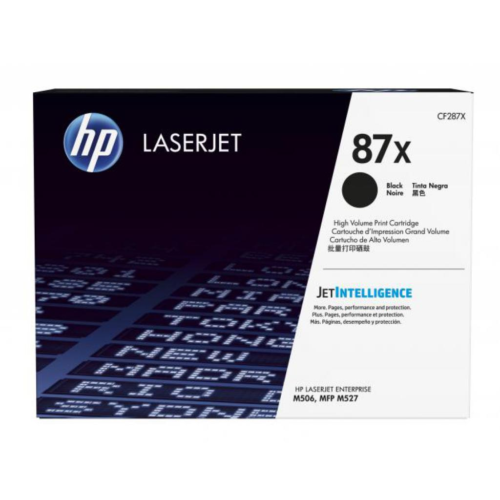 Картридж HP LJ  87X Enterprise Flow MFP M527c/M506dn (CF287X)