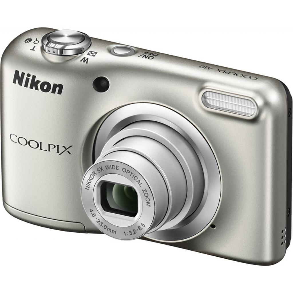 Цифровой фотоаппарат Nikon Coolpix A10 Silver (VNA980E1) изображение 2