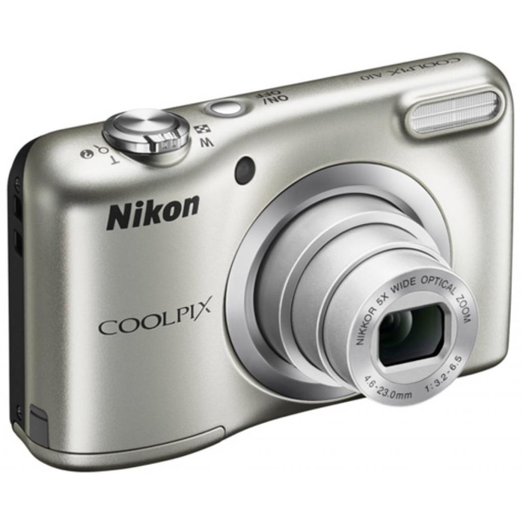 Цифровой фотоаппарат Nikon Coolpix A10 Silver (VNA980E1) изображение 3
