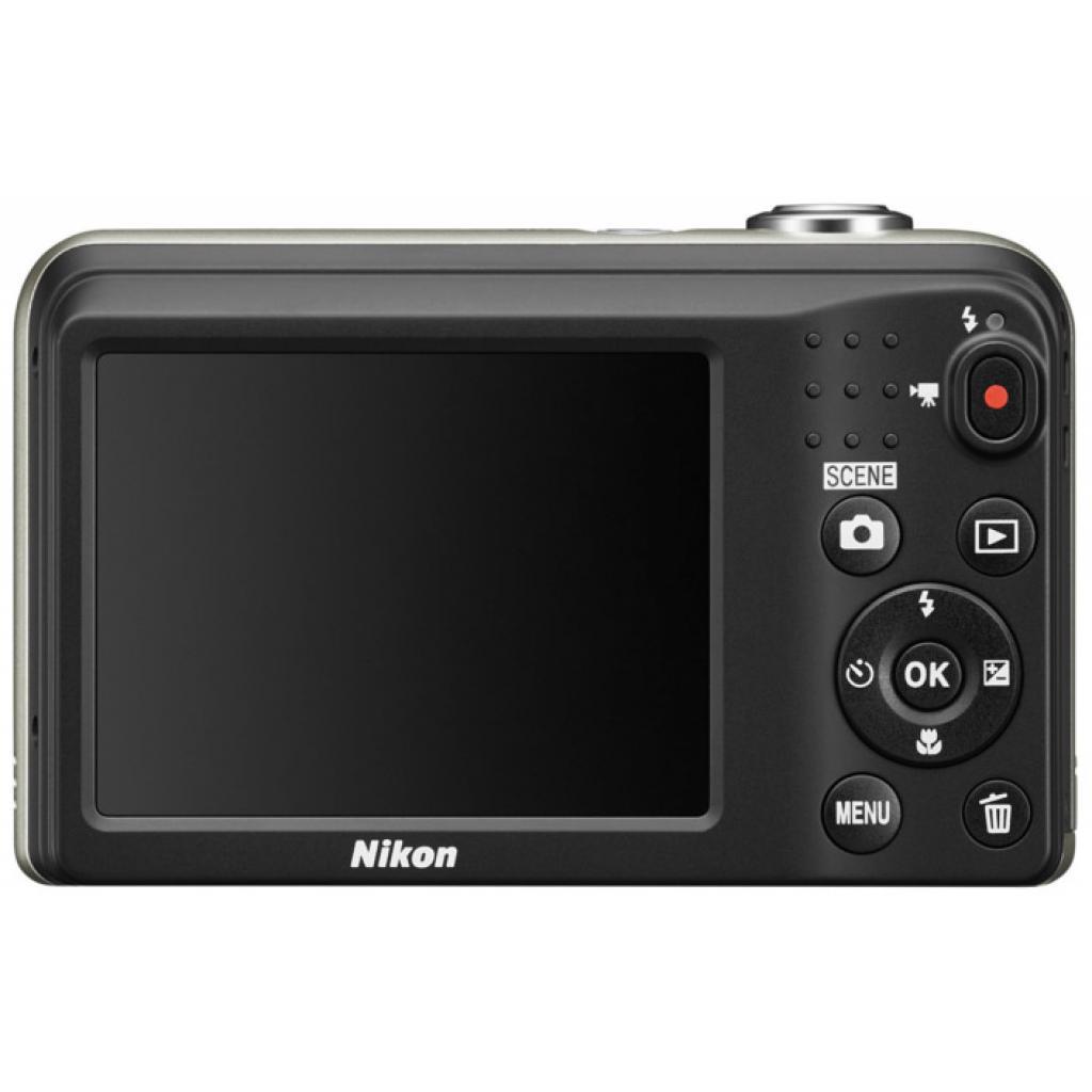 Цифровой фотоаппарат Nikon Coolpix A10 Silver (VNA980E1) изображение 4