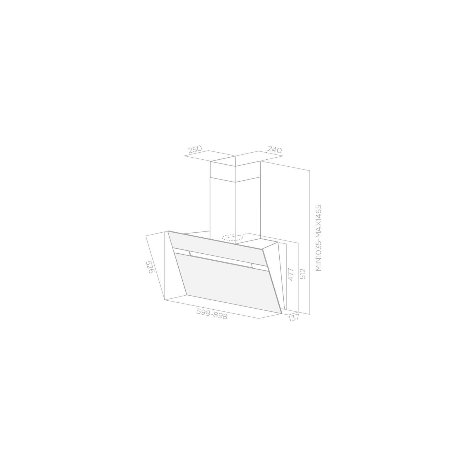 Вытяжка кухонная Elica STRIPE BL/90/A/LX изображение 2