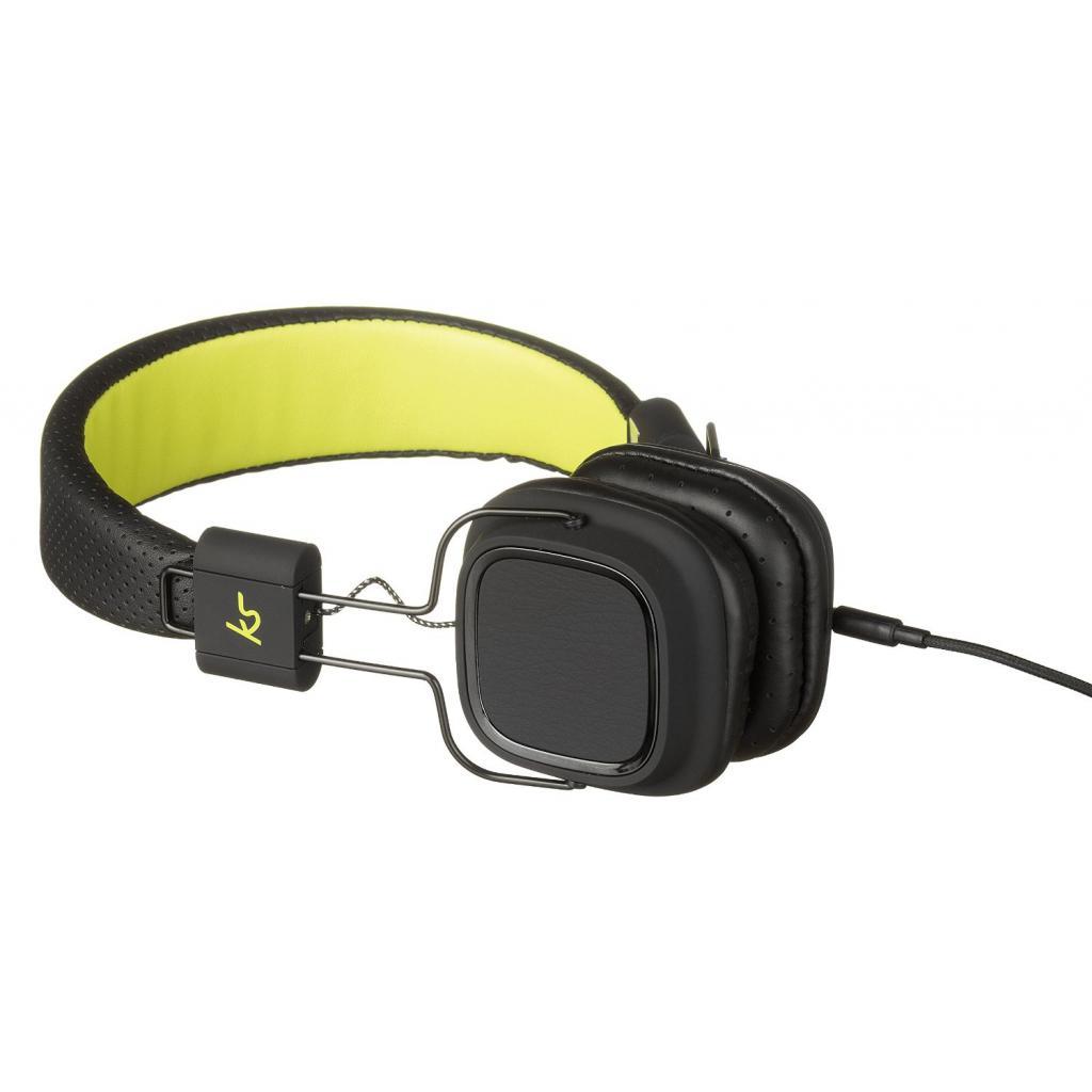 Наушники KitSound KS Clash On-Ear Headphones with In-line Mic (Black) (KSCLABK) изображение 3
