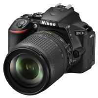 Цифровой фотоаппарат Nikon D5600 + AF-S 18-105 VR Kit (VBA500K003)
