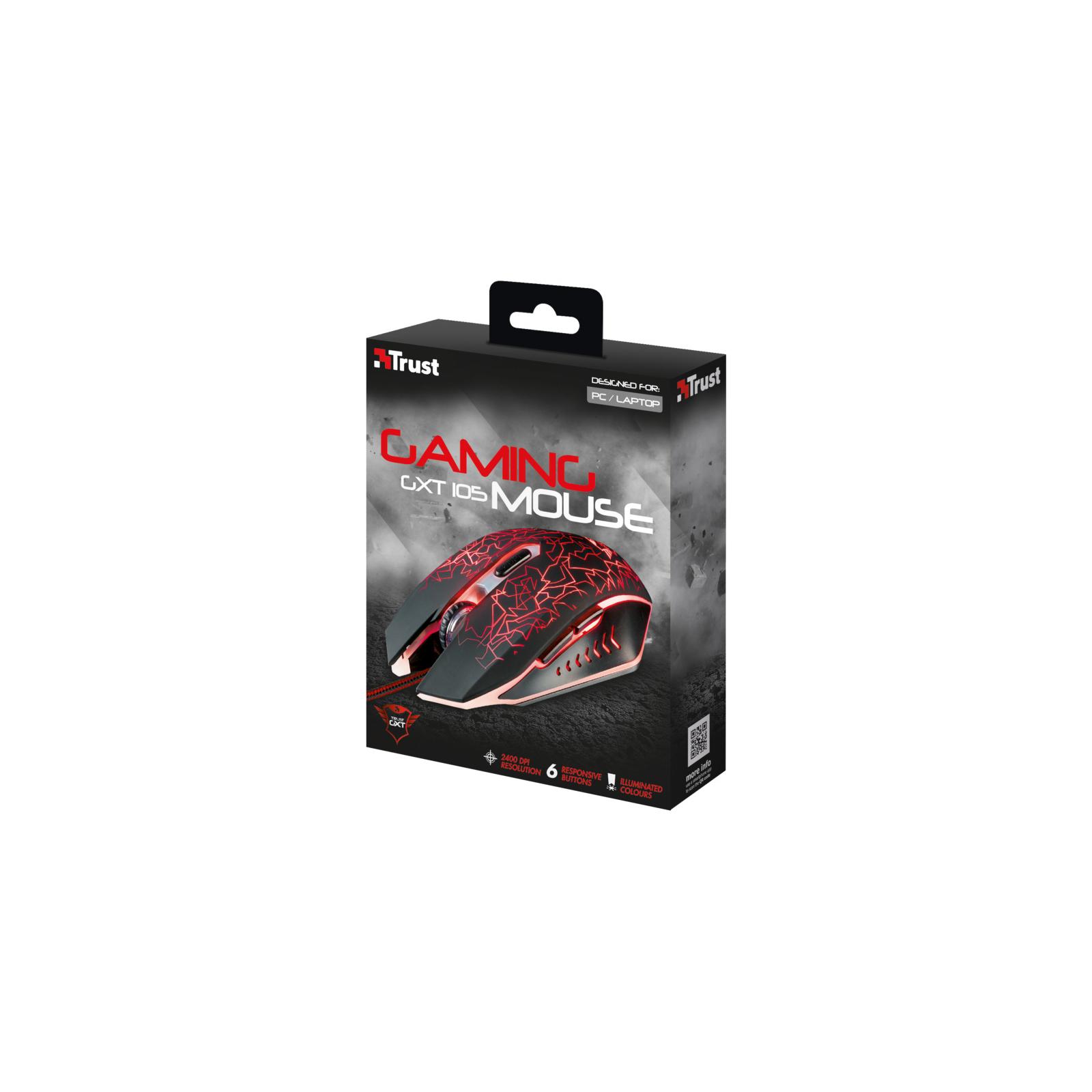 Мышка Trust GXT 105 Gaming Mouse (21683) изображение 8
