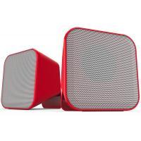 Акустическая система Speedlink SNAPPY Stereo Speakers, red-white (SL-810002-RDWE)
