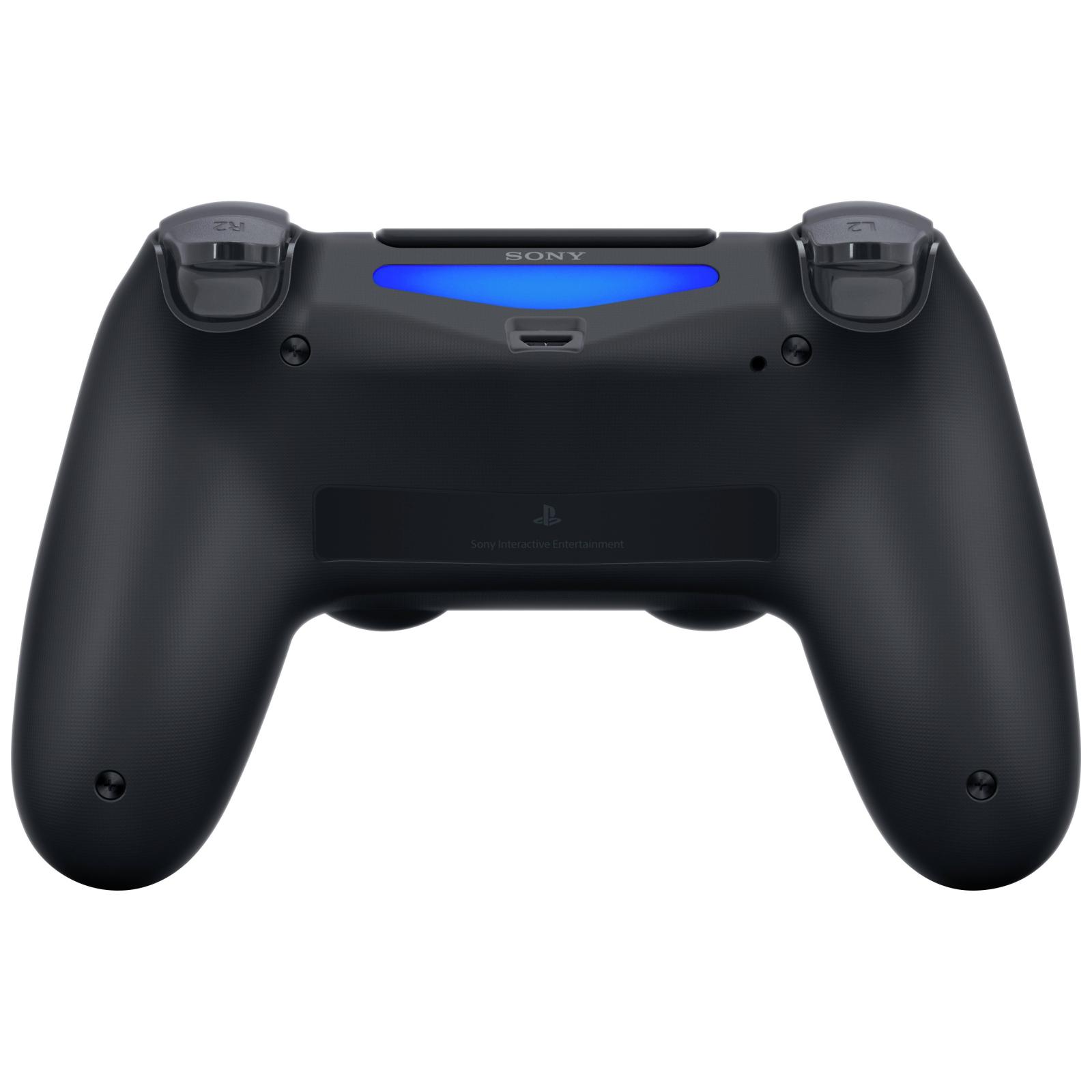 Геймпад Sony PS4 Dualshock 4 V2 Steel Black изображение 6