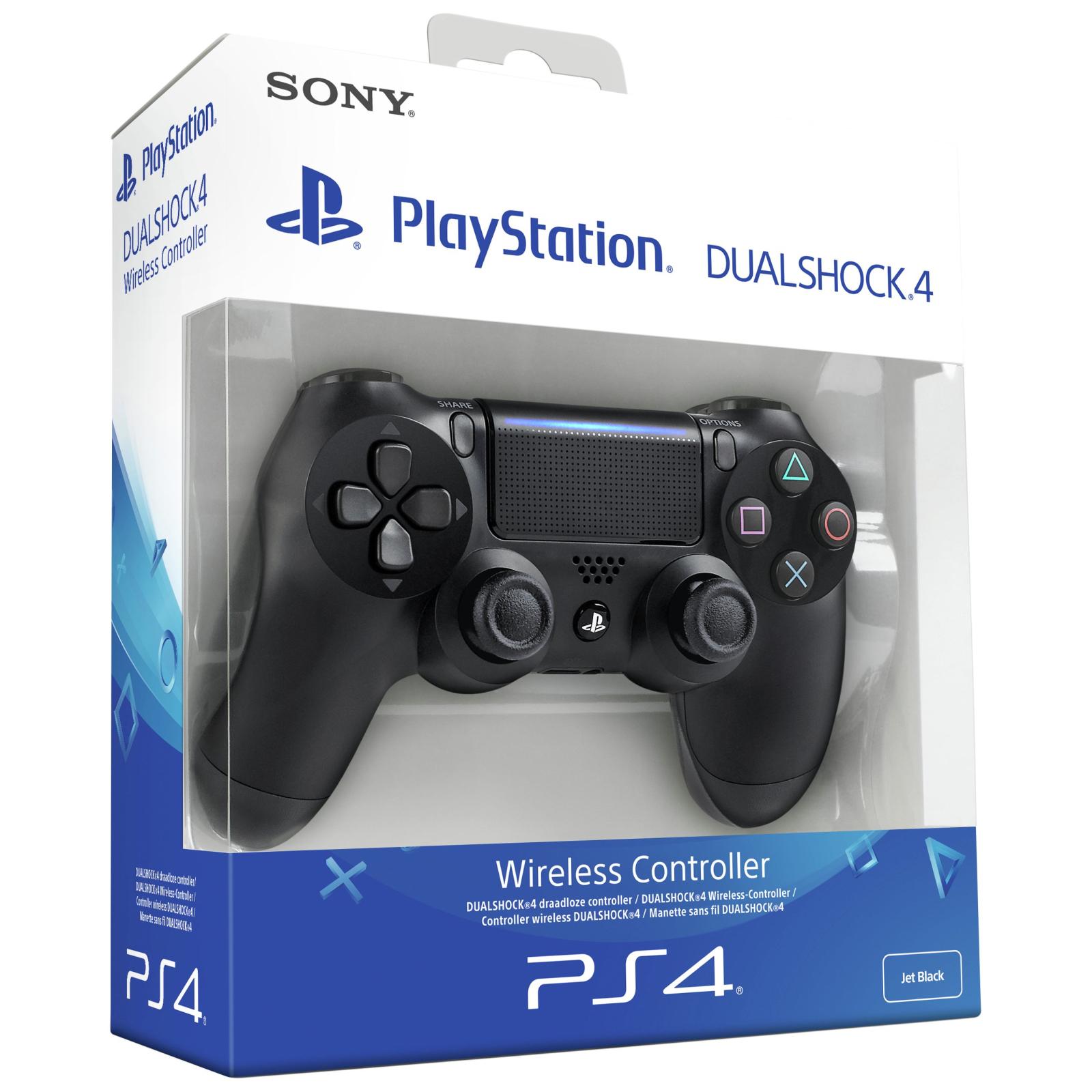 Геймпад Sony PS4 Dualshock 4 V2 Steel Black изображение 7