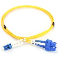 Оптичний патчкорд DIGITUS LC/UPC-SC/UPC,9/125,OS2,duplex,1m (DK-2932-01)