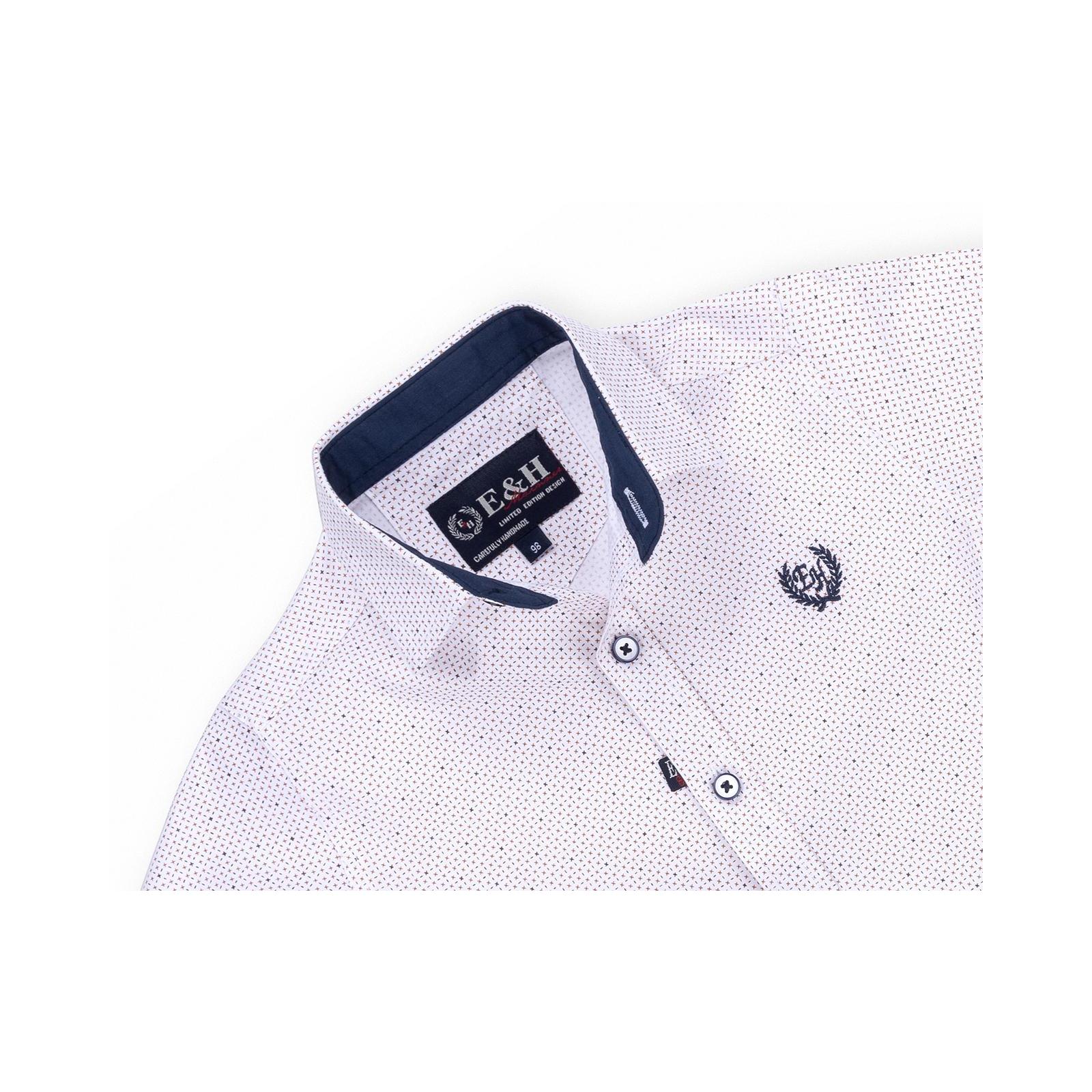 Рубашка E&H с мелким рисунком (G-257-98B-beige) изображение 3