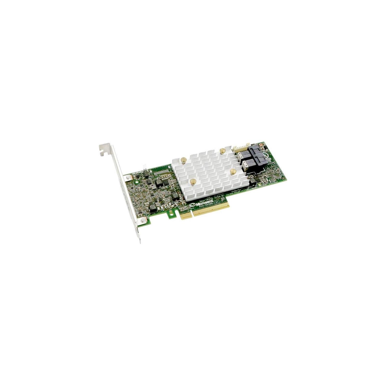Контроллер RAID Adaptec SmartRAID 3102-8i Single 2xSFF-8643, 8xPCIe 2GB (1222294800-R/22294800-R)