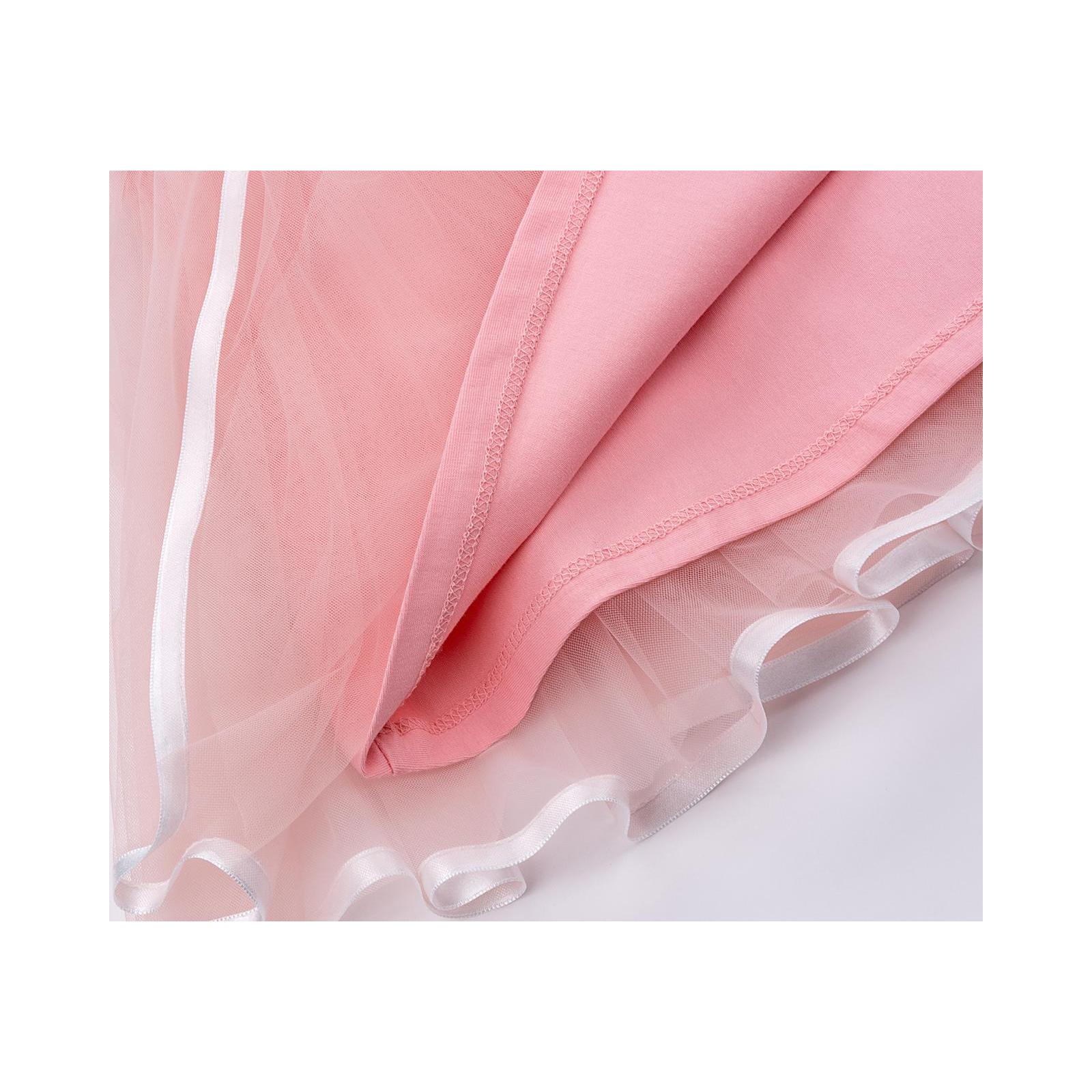 Платье Breeze сарафан с фатиновой юбкой и сердцем (10862-128G-peach) изображение 7