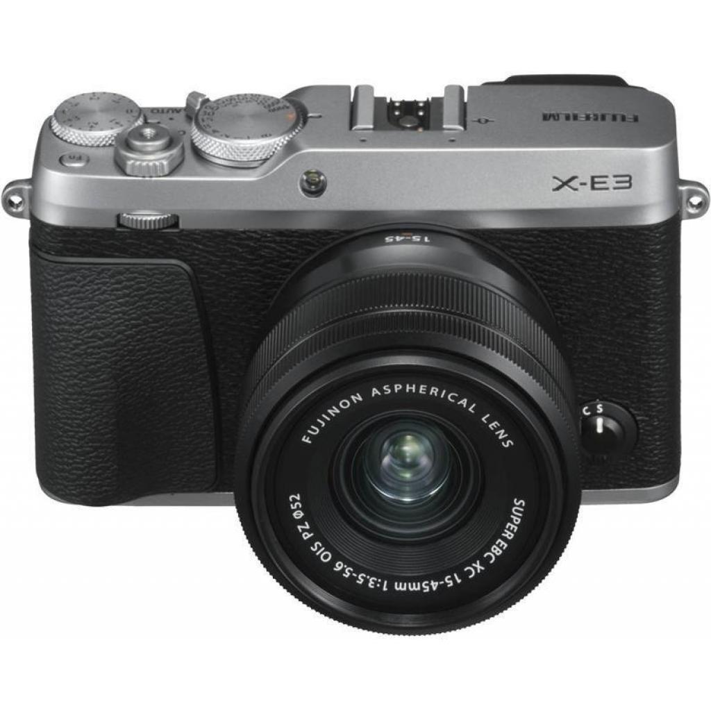 Цифровой фотоаппарат Fujifilm X-E3 XC 15-45mm F3.5-5.6 Kit Silver (16584814) изображение 6