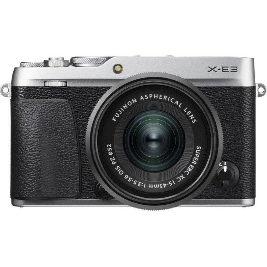 Цифровой фотоаппарат Fujifilm X-E3 XC 15-45mm F3.5-5.6 Kit Silver (16584814)