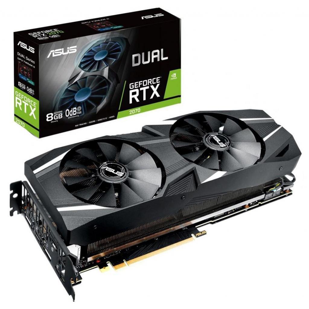Видеокарта ASUS GeForce RTX2070 8192Mb DUAL (DUAL-RTX2070-8G)
