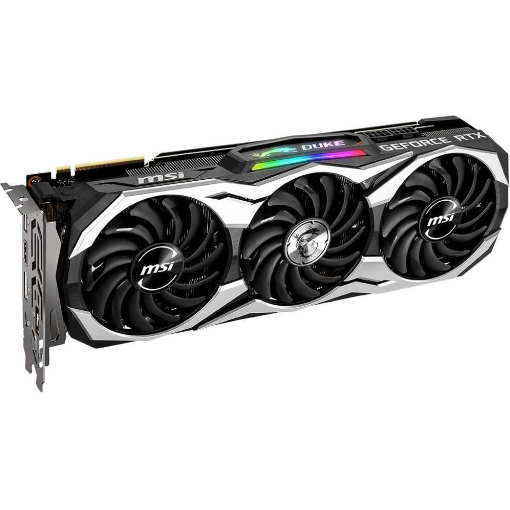 Видеокарта MSI GeForce RTX2080 Ti 11Gb DUKE (RTX 2080 Ti DUKE 11G) изображение 3
