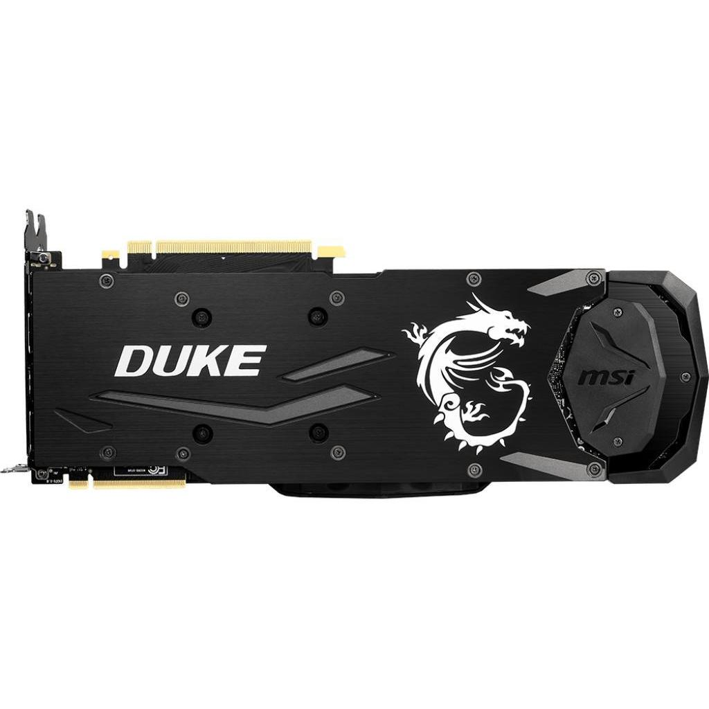 Видеокарта MSI GeForce RTX2080 Ti 11Gb DUKE (RTX 2080 Ti DUKE 11G) изображение 4