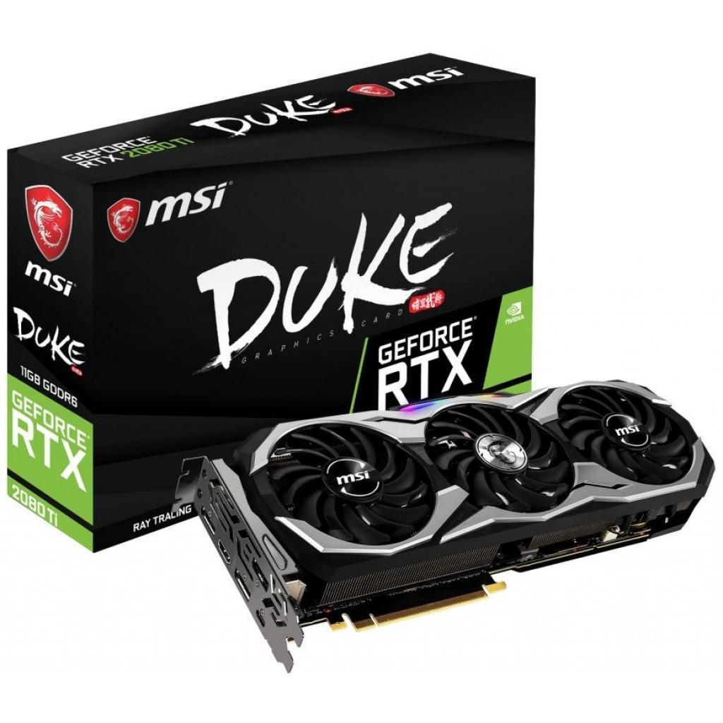 Видеокарта MSI GeForce RTX2080 Ti 11Gb DUKE (RTX 2080 Ti DUKE 11G)