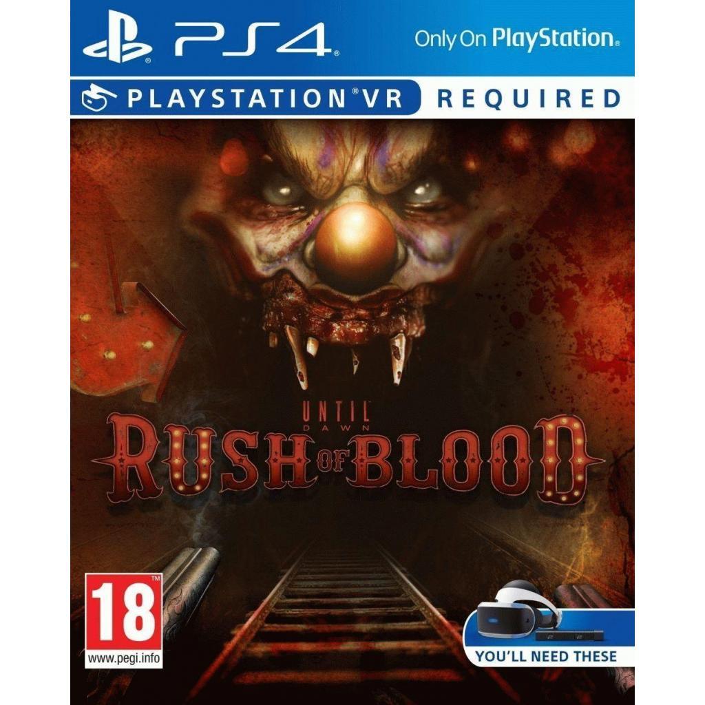 Игра SONY Until Dawn: Rush of Blood (только для VR) [PS4, Russian vers (9767916)
