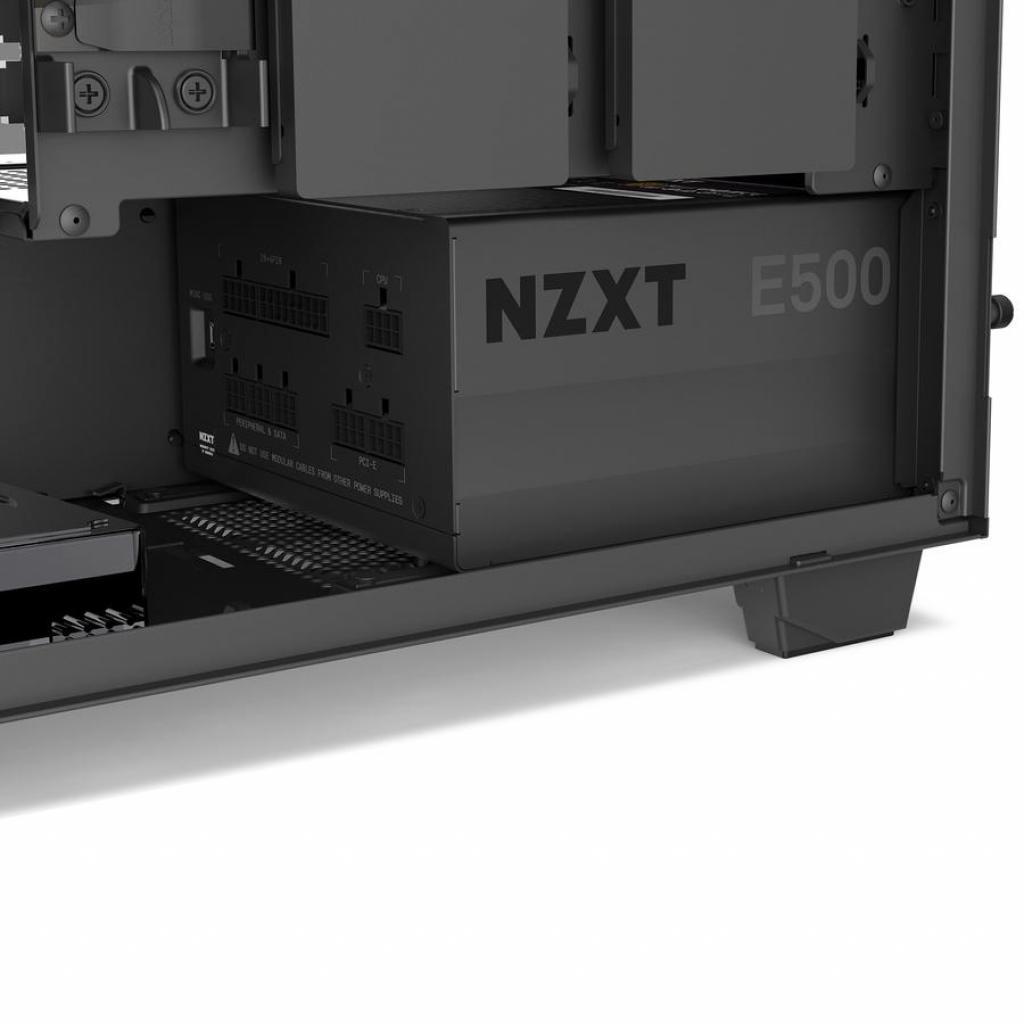 Блок питания NZXT 500W E500 (NP-1PM-E500A-EU) изображение 7