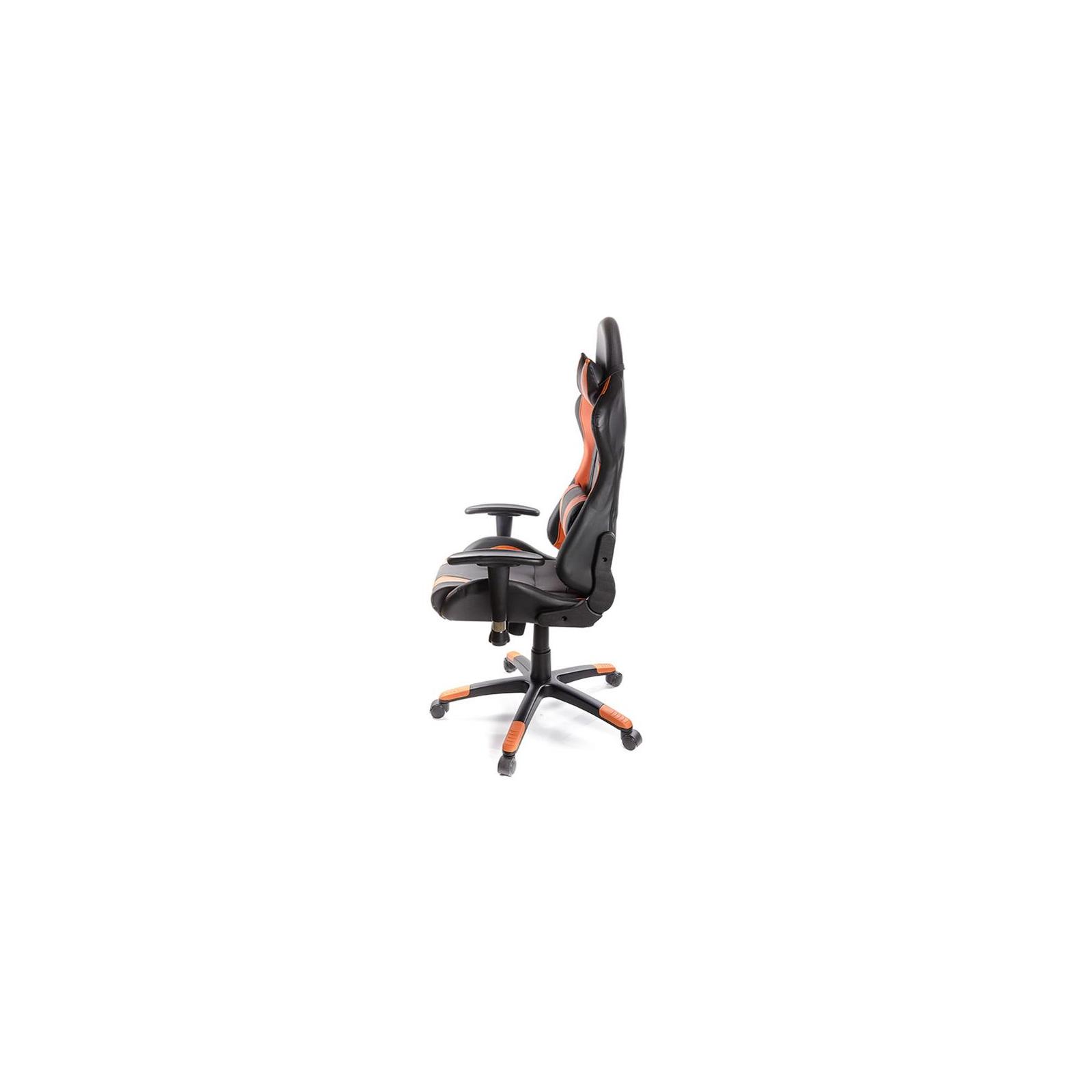 Кресло игровое АКЛАС Хорнет PL RL Оранжевое (06155) изображение 3