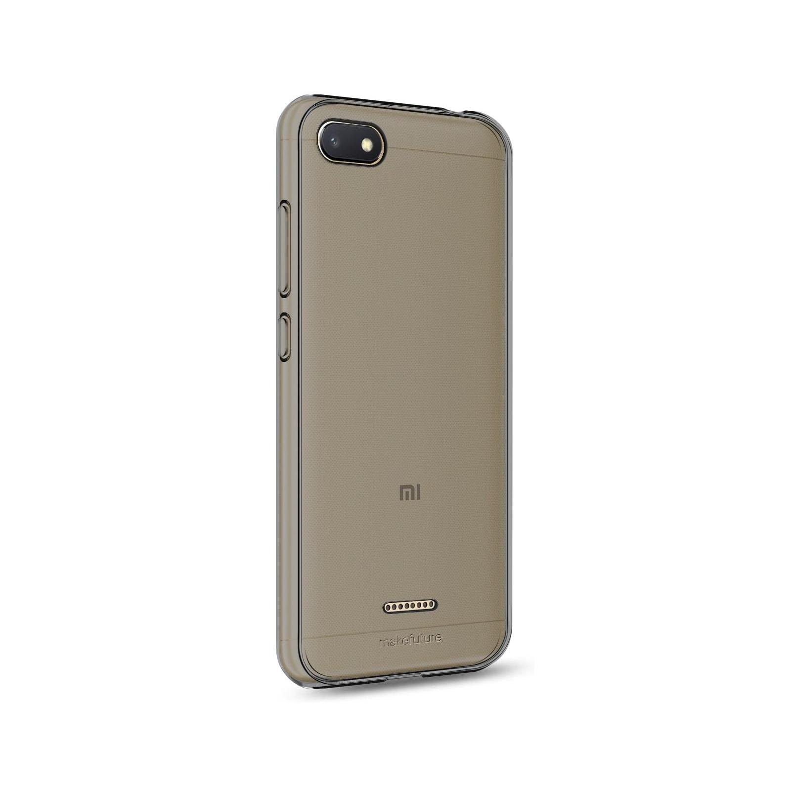 Чехол для моб. телефона MakeFuture Air Case (Clear TPU) Xiaomi Redmi 6A Black (MCA-XR6ABK) изображение 2