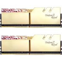 Модуль памяти для компьютера DDR4 16GB (2x8GB) 3200 MHz Trident Z Royal RGB Gold G.Skill (F4-3200C16D-16GTRG)