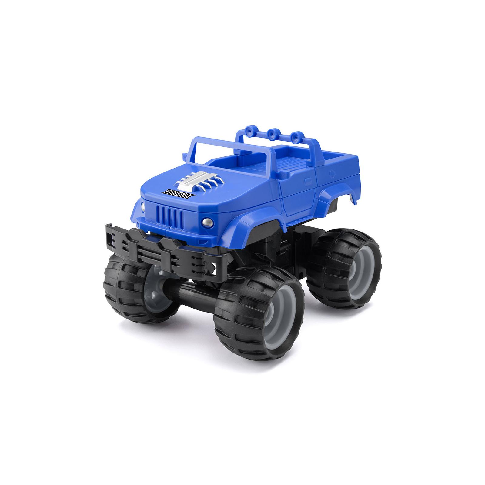 Радиоуправляемая игрушка Monster Smash-Ups Crash Car S2 Киборг Зеленый (TY6082A) изображение 2