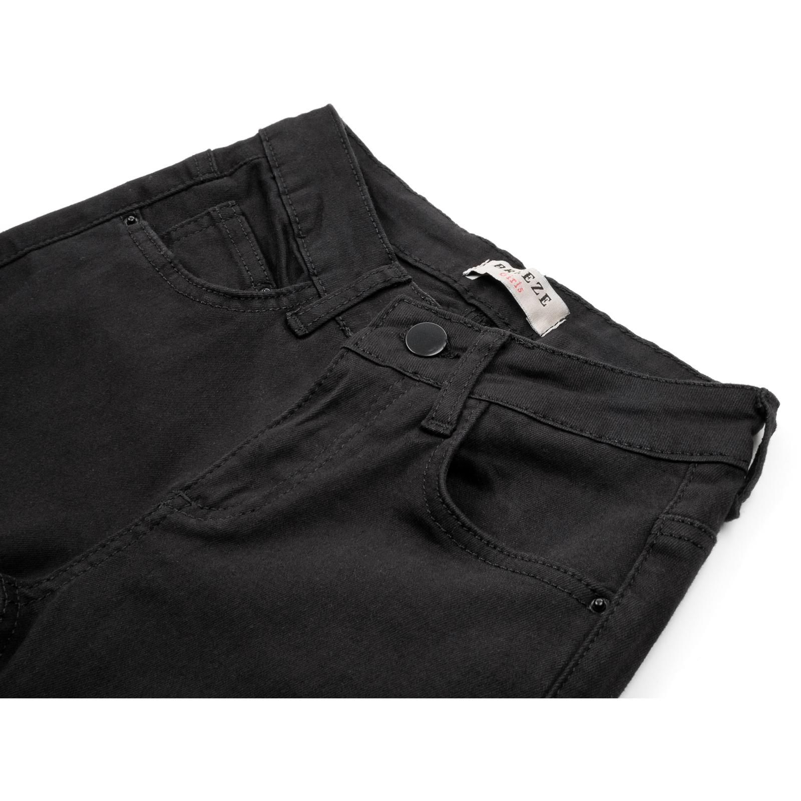 Штаны детские Breeze джинсовые зауженные (13212-146G-black) изображение 3