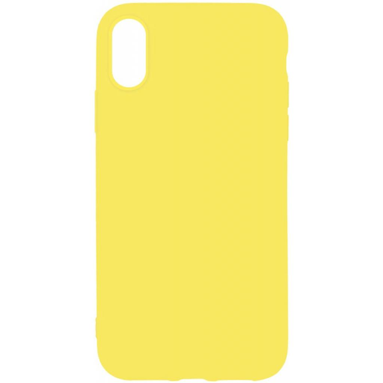 Чехол для моб. телефона Toto 1mm Matt TPU Case Apple iPhone XS Max Yellow (F_93848)