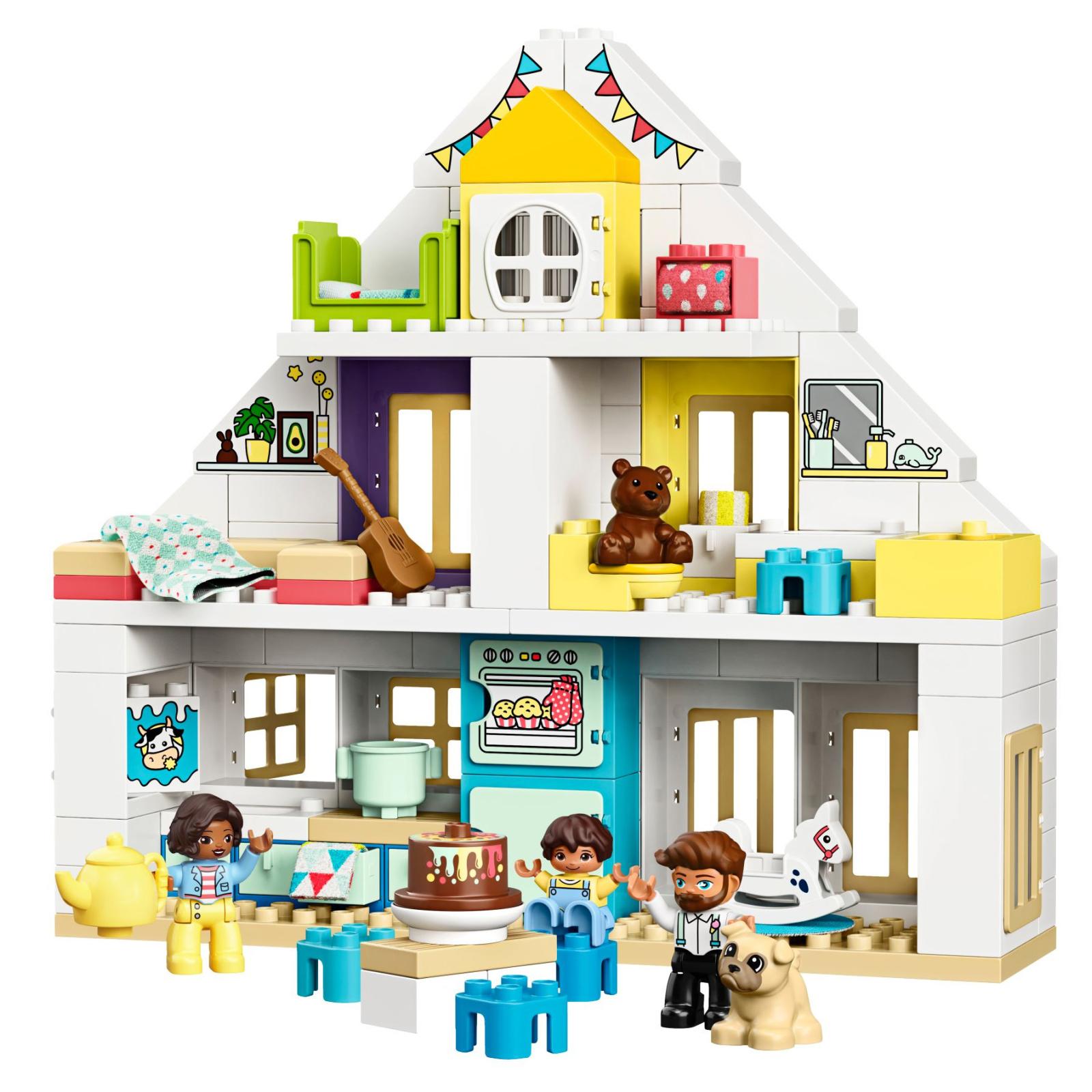 Конструктор LEGO DUPLO Town Модульный игрушечный дом 129 деталей (10929) изображение 2