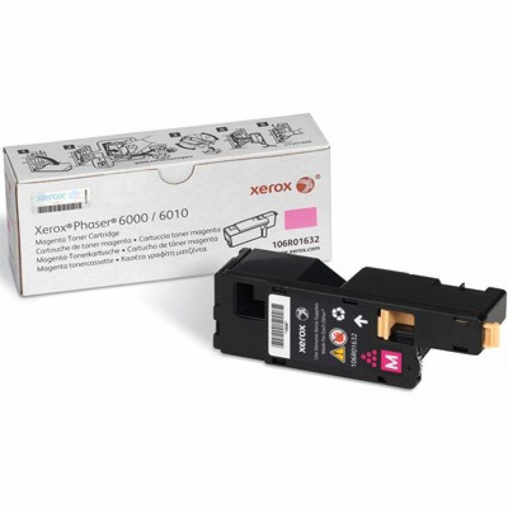 Тонер-картридж XEROX PH6000/6010N Magenta (106R01632)