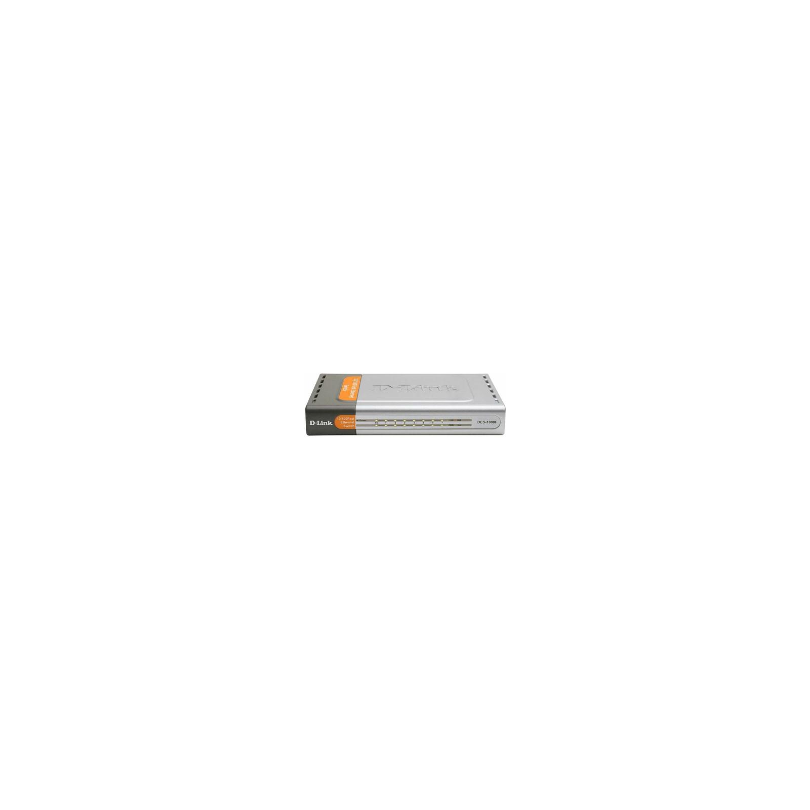 Коммутатор сетевой D-Link DES-1008F